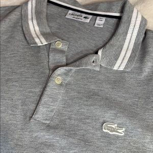 Lacoste polo shirt regular fit size 4